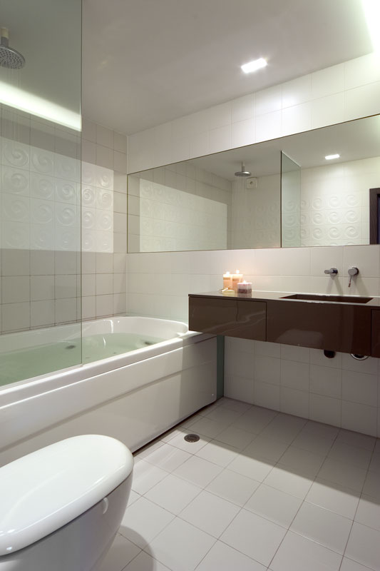 Интериор на бяла баня