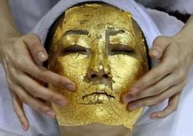 СПА процедура със златна маска