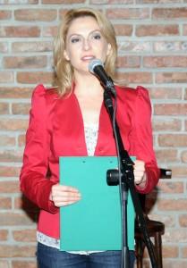 Ива Дойчинова, член на Съвета, беше водеща на събитието