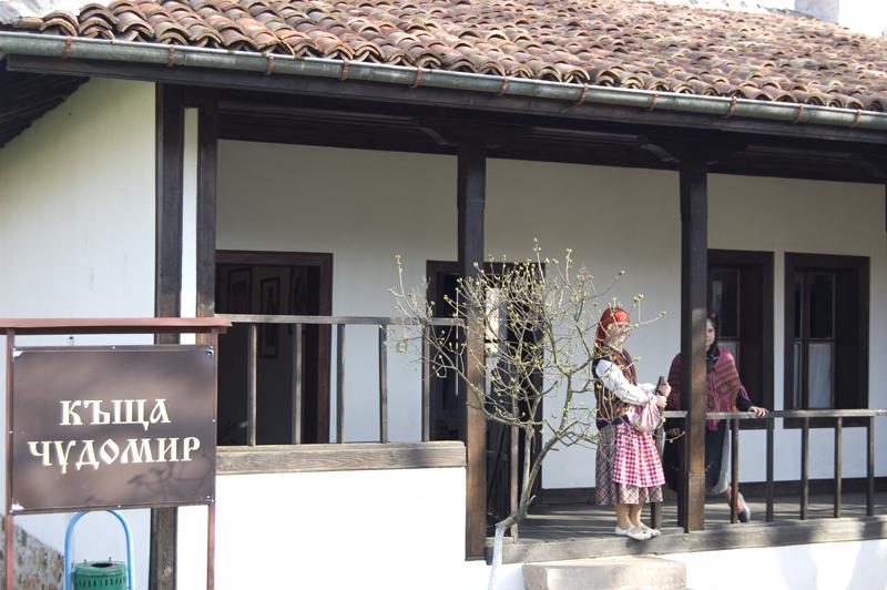 къщата на Чудомир, с. Турия
