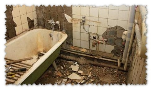 Основни етапи от ремонта на банята