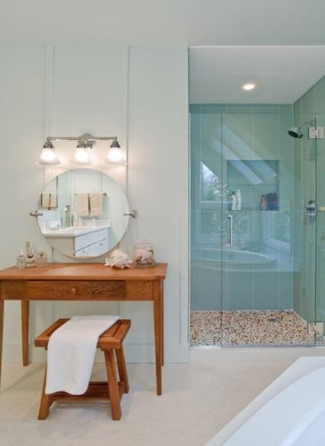 Декорация на баня на морска тема