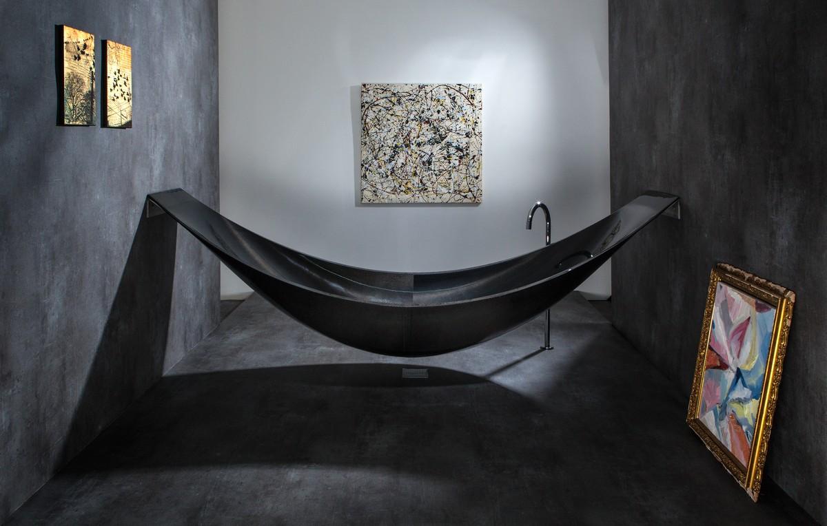 вана за артистичната баня