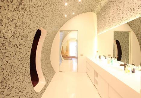 дизайн на баня с хромотерапия