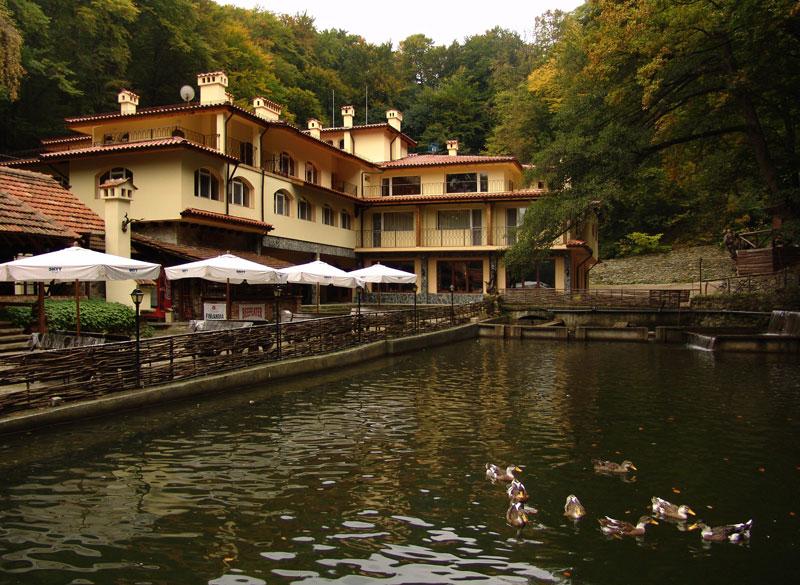 хотел Езерото, Вили Костенец