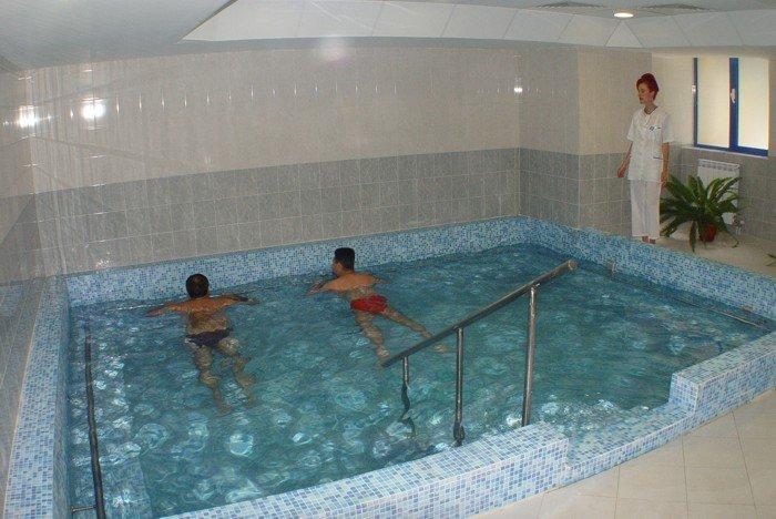 Балнеохотел, св. Мина в Бургаски минерални бани