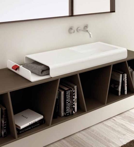 Дизайнерска мивка за баня