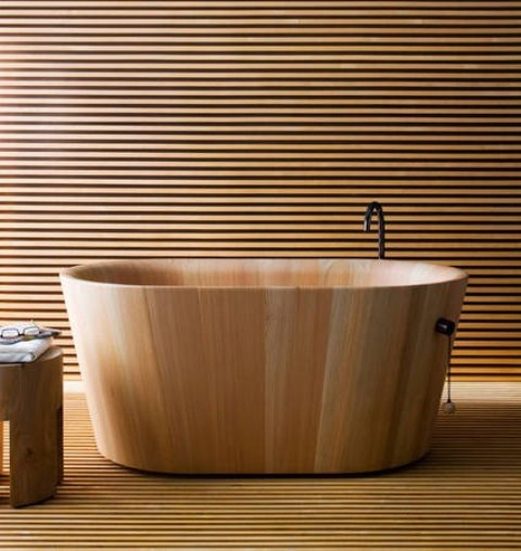 Идеи за интериор с дърво в банята