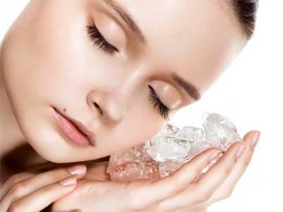 Сутрешен масаж с лед