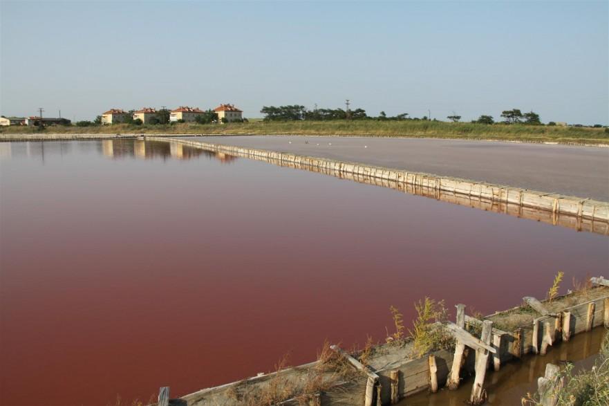 бургаски езера - лечебни характеристики