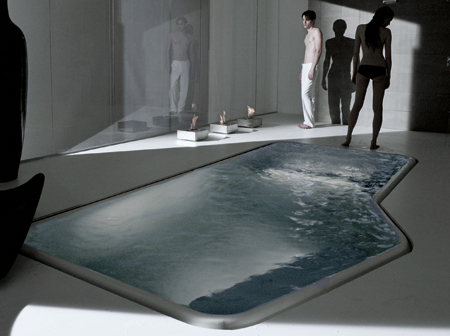 Луксозна вана за хола