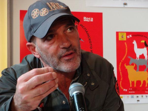 Антонио Бандерас пристига за Седмицата на испанското кино